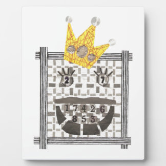 King Sudoku on an Easel Plaque