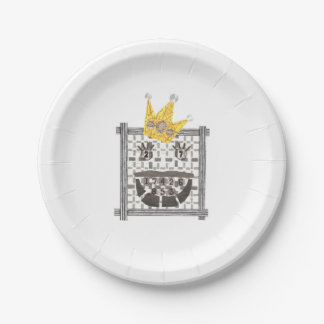 King Sudoku Paper Plate