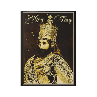 King Ting Poster Wood Poster