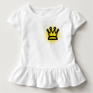 King Toddler Ruffle Tee