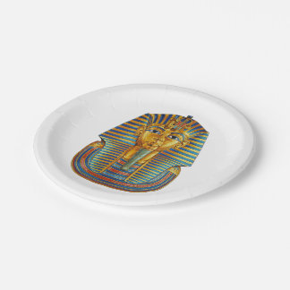 King Tut 7 Inch Paper Plate