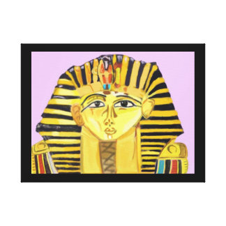 King Tut Gallery Wrap Canvas