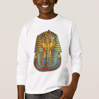 King Tut White Long Sleeve T-Shirt