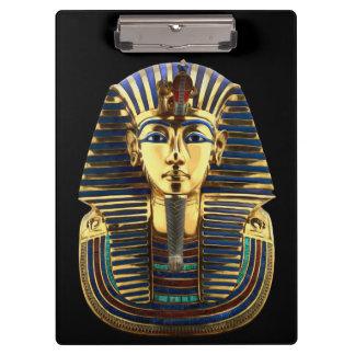 King Tutankhamun, Gold Mask Clipboard