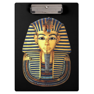 King Tutankhamun, Gold Mask Clipboard