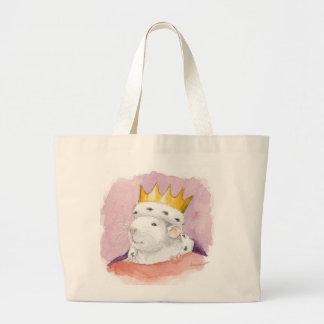 king uno large tote bag