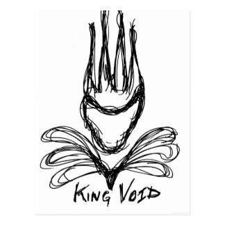 """KING VOID"" POSTCARD"