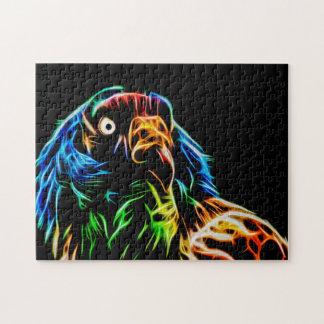 King Vulture 03 Digital Art - Photo Puzzle