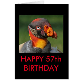 King Vulture - Happy 57th Birthday Card