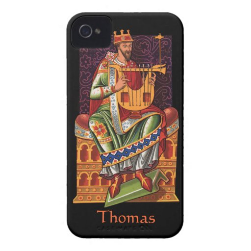 King with a String Thing iPhone 4 Case