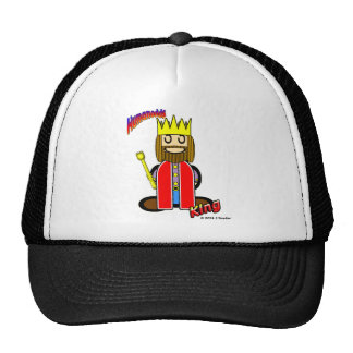 King (with logos) cap