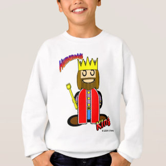 King (with logos) sweatshirt