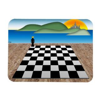 Kingdom of Chess Rectangular Photo Magnet