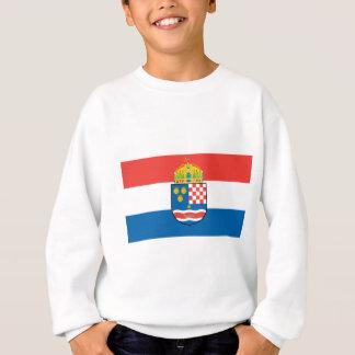 Kingdom of Dalmatia Croatia and Slavonia Flag Sweatshirt