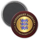 Kingdom of Denmark 7.5 Cm Round Magnet