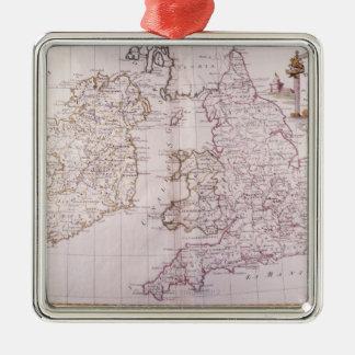 Kingdom of England Christmas Ornament