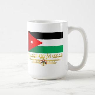 Kingdom of Jordan Flag (Arabic) Coffee Mug