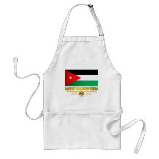 Kingdom of Jordan Flag Standard Apron