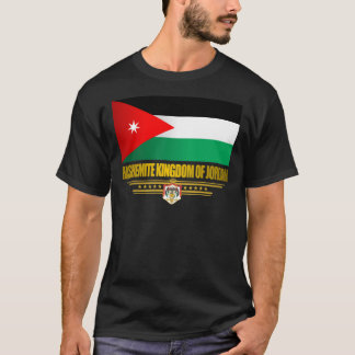 Kingdom of Jordan Flag T-Shirt