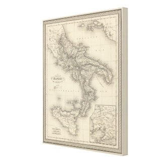 Kingdom of Naples Canvas Print