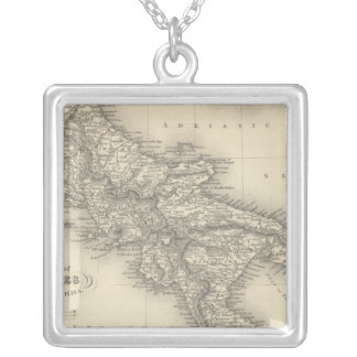 Kingdom of Naples Silver Plated Necklace