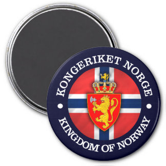Kingdom of Norway Magnet