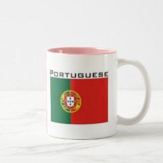 kingdom of Portugal Flag Two-Tone Coffee Mug