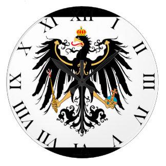 Kingdom of Prussia national flag Large Clock