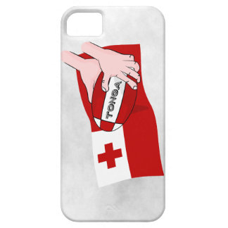Kingdom of Tonga Rugby Flag iPhone 5 Cases
