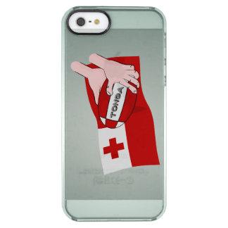 Kingdom of Tonga Tongan Rugby Ball Flag iPhone 6 Plus Case