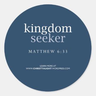 Kingdom Seeker Sticker