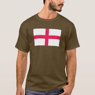 Kingdome of England (Kingdom of England) Map/Flag T-Shirt