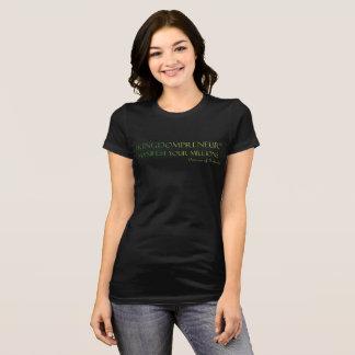 #KINGDOMPRENEUR -MANIFEST YOUR MILLIONS TM T-Shirt