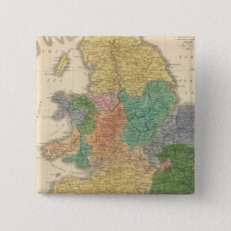 Kingdoms of the Anglo Saxons 15 Cm Square Badge