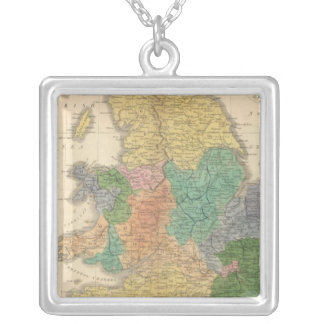 Kingdoms of the Anglo Saxons Silver Plated Necklace