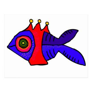 kingfish postcard