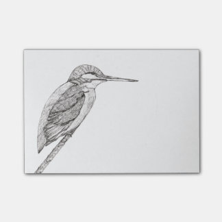 Kingfisher (a304) post-it notes