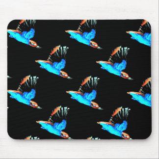 Kingfisher Art Mouse Mat