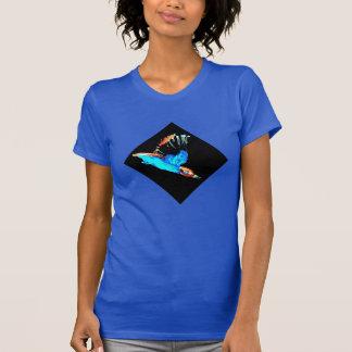 Kingfisher Bird at Night T-Shirt