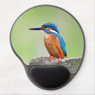 Kingfisher bird gel mouse pad