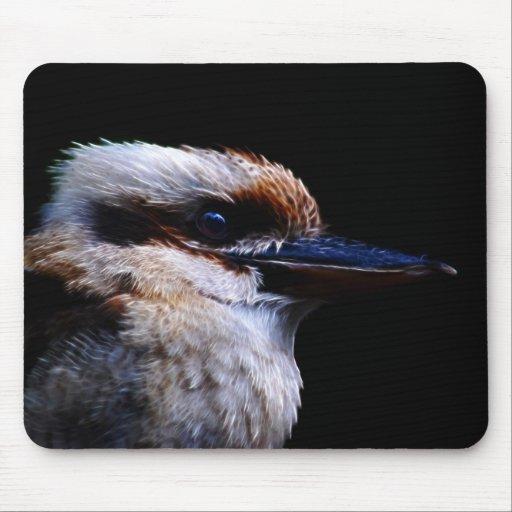 Kingfisher bird mouse pads