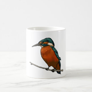 Kingfisher Bird Mug