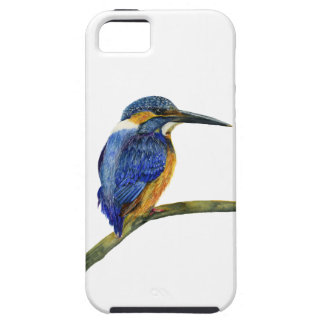 Kingfisher Bird Watercolor Halcyon Bird Case For The iPhone 5