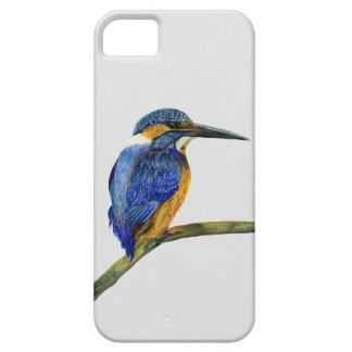 Kingfisher Bird Watercolor Halcyon Bird iPhone 5 Cover
