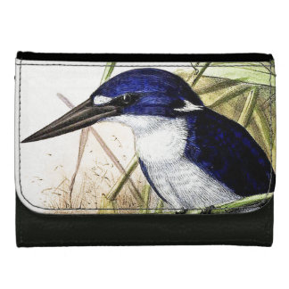 Kingfisher Birds Wildlife Animals Pond Wallet