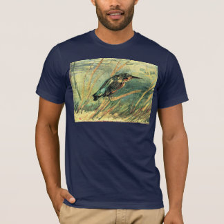Kingfisher by Vincent van Gogh T-Shirt