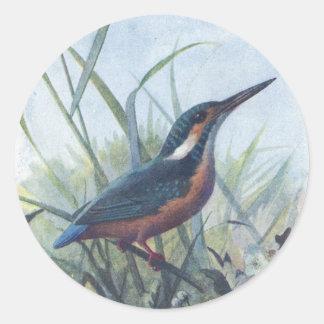 kingfisher classic round sticker