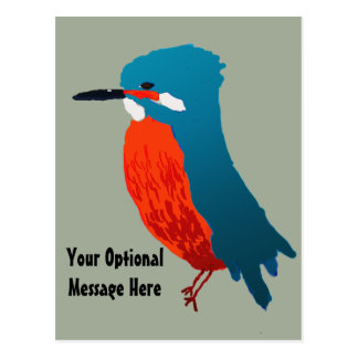 Kingfisher Design Postcard