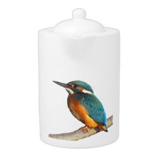 """Kingfisher"" design teapots"