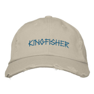 KINGFISHER EMBROIDERED HAT